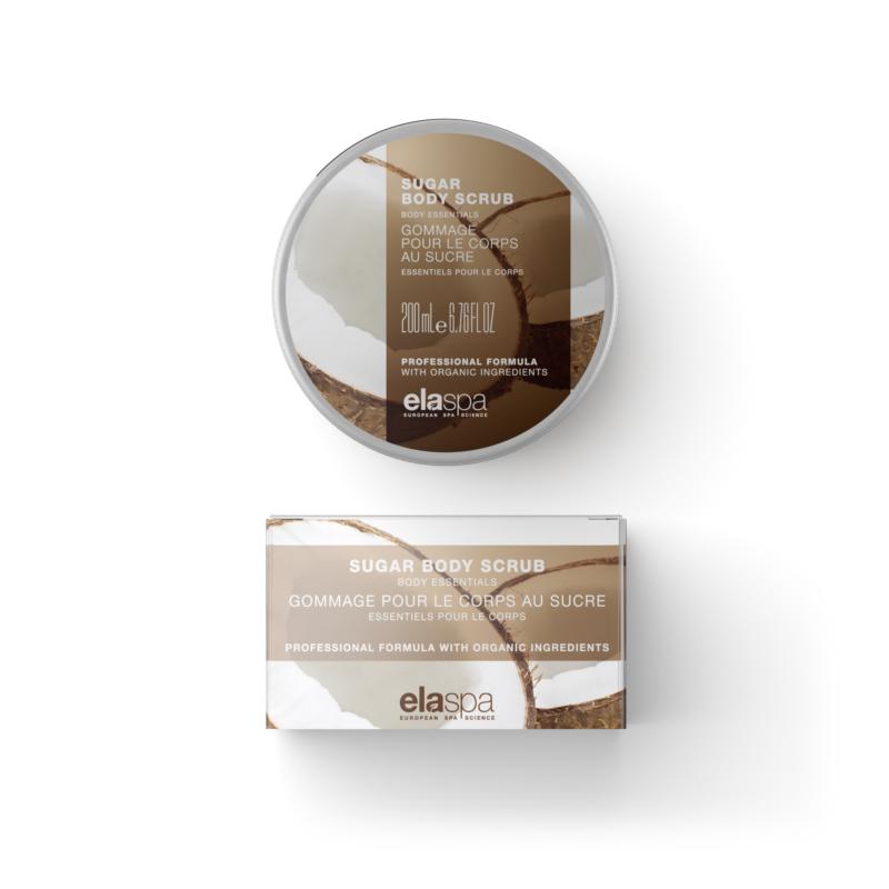 ElaSpa sugar body scrub