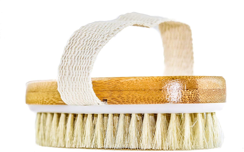 grannaturals hand size dry body brush